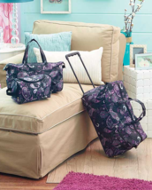 3 Piece Luggage Sets Wheeled Duffel Bag Travel Tote Bag Trendy Cute Blac... - $29.69