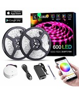 Solarphy 32.8ft/10m Led Strip Lights, Bluetooth App Controlled LED Music... - $48.17