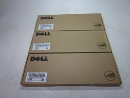 Lot of 3 New Dell KB212-B DJ454 Black USB Keyboards - $34.75