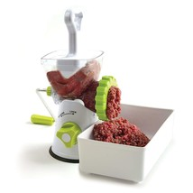 3 in 1 Meat Hamburger Patty Grinder Food Mincer Pasta Maker Kitchen Tool... - $66.34