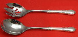 Modern Victorian by Lunt Sterling Silver Salad Serving Set 2pc Custom Made - $126.65