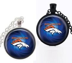 1 NFL Denver Broncos Bezel Pendant Necklace for Gift - $10.99