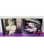 Lot of 2 Dolly Parton Music CDs White Limozeen and Eagle When She Flies - $11.87