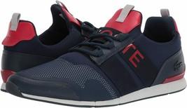 Lacoste Men's Premium Sport Menerva Elite 120 CMA Textile Sneakers Shoes image 2