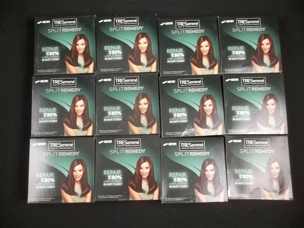 Tresemme Split Remedy Shampoo Conditioner Travel Trial 1 Oz Size Lot of 12 - $19.75