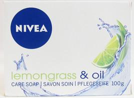 NIVEA bar soap: LEMONGRASS & OIL - 100 g - $2.82