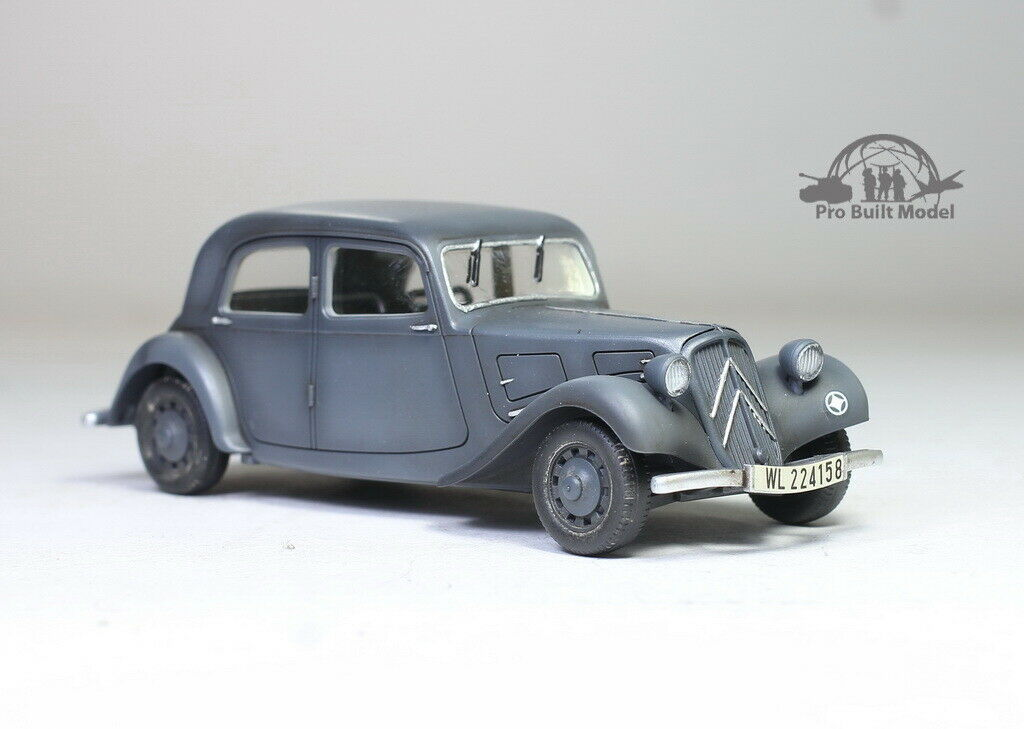 Primary image for Citroen 11CV Traction staff car WW2 1:48 Pro Built Model
