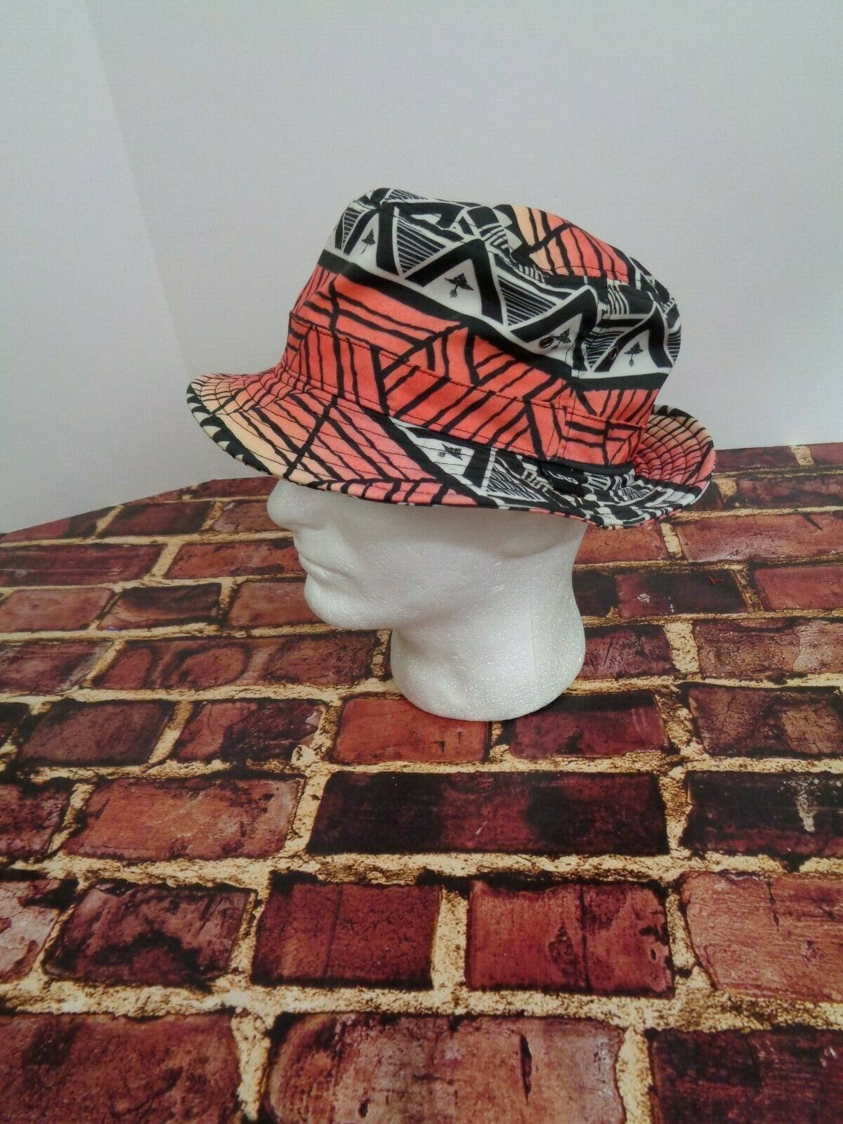 LRG Lifted Research Group FLOPPY Cap Hat Sun Fashion Black Orange Red True Heads image 6