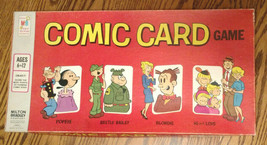 COMIC CARD Vintage Board Game COMPLETE, Milton Bradley #4305, 1973 - $24.99