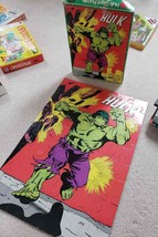 Vintage 1977 Marvel Comics Incredible Hulk Giant Puzzle 100% Complete 2'... - $69.25