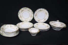 Meito China 15 Piece Set Of Hand Painted Plates... - $494.99