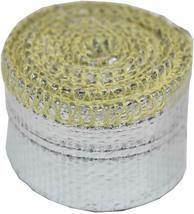 "Heat Sheath Aluminized Sleeving Heat Shield Protection Barrier 1/2"" x 36"" (3ft) image 4"
