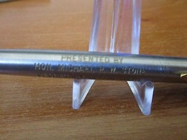 Boxed Hon Michael P W Stone Secretary of The Army Signer Parker Pen #14 - $18.81