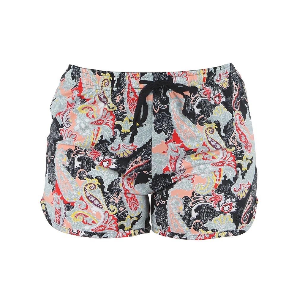 Primary image for Hello Mello Leisure Time Midnight Paisley Lounge Shorts Medium/Large