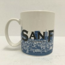 Starbucks Mug 2002 San Francisco Skyline Series One Barista City By The Bay EUC  - $16.82