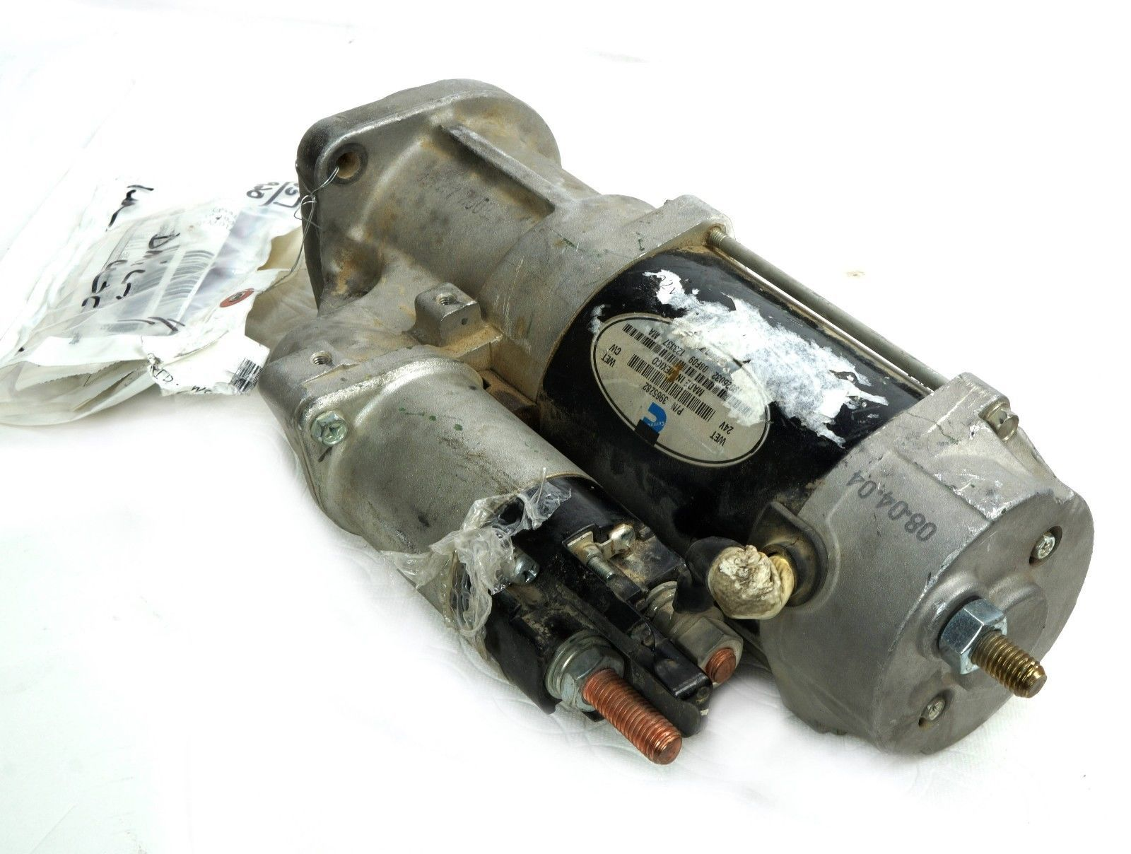 Cummins 3965282 Electrical Motor Starter 24V Fits Grove AT422T Crane ISB  Engines - $106.43