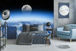 3D Night Sky PKE619 Business Wallpaper Wall Mural Self-adhesive Commerce... - $13.49+