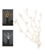 5M White Warm White 25LED Twig Tree Branches Table Holiday String Light ... - $18.80