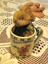 Boyds Bears-Lil Mugs'o Hugs-Merry Moosemas-#563904- China-2005 - $14.00
