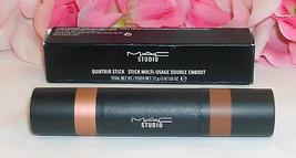 New MAC Studio Quiktrik Stick Multi Use A Latte Sheen / Semi Sweet .42 o... - $21.99