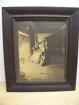 1898 framed print Hanging of the Crane William Ladd Taylor litho - $47.45