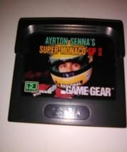 Super Monaco GP II (Sega Game Gear, 1992) Cartridge Handheld Video Game - $14.24