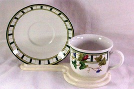 Lenox Summer Terrace Coffee Cup And Saucer Set - $6.29