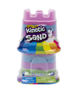 Kinetic Sand 2-Pack Rainbow Unicorn 5oz Multicolor Containers for kids a... - $14.99