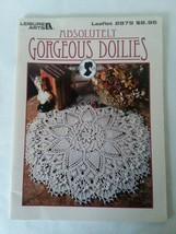 Leisure Arts Leaflet #2879 - Absolutely Gorgeous - Doilies - Crochet Sou... - $9.49