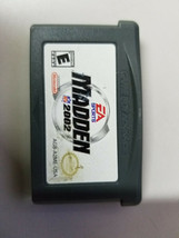 Madden NFL 2002 (Nintendo GameBoy Advance GBA) Game only - $5.94