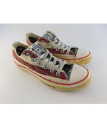 Converse All Star American Flag RARE Low Sneakers Womens 8 / Mens 6 Dist... - $24.74