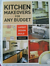 KITCHEN MAKEOVERS How-To Book & DVD. See contents in photos. IDEAS INFOR... - $9.55