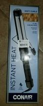 "Conair Instant Heat 1 1/4"" Curling Iron Rod 25 Heat Settings Dual Voltage - $33.00"
