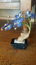 "Vintage Chinese Miniature Tree - Lapis Lazuli, Coral - ""Bonsai Tree"" - $94.05"