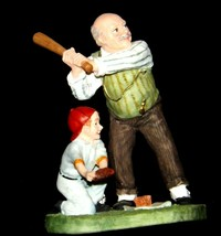 """""""Gramps at the Plate"""" by Norman Rockwell Figurine AA19-1664 Vintage image 2"""