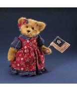 "Boyds Bears ""Martha Bearamerican""  -#904901-   14""  Plush Bear- New- 2008 - $59.99"