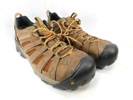 Keen Flint bajo Talla 11.5 M (D) Eu 45 Hombre Acero Punta Utilidad Trabajo Shoes - $73.78