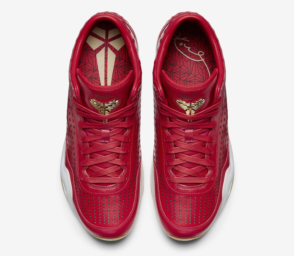 on sale 8de2c 55bf9 ... Mens SZ 8 Nike Kobe X 10 Mid EXT RED Metallic Gold Gum Bottom 802366 600  ...