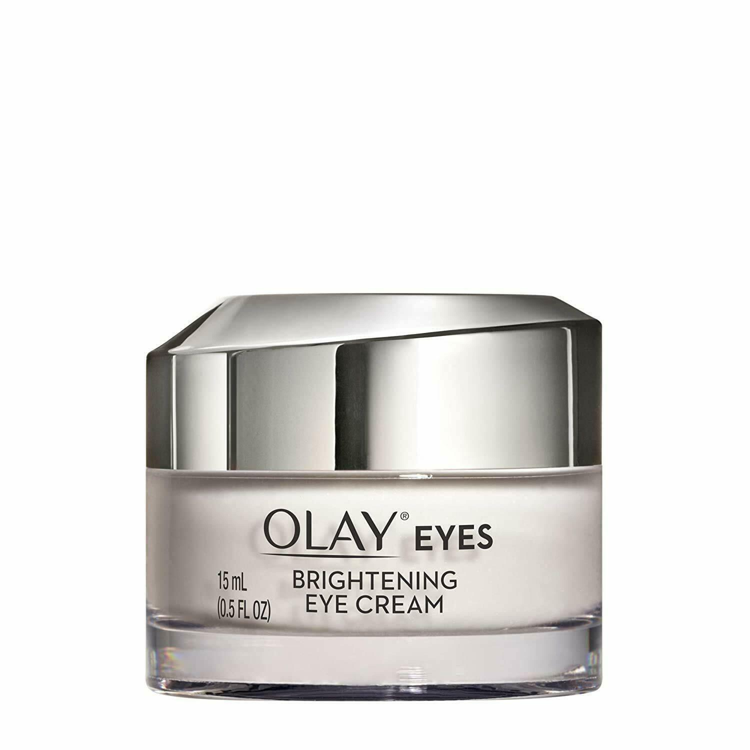 Primary image for Olay Vitamin C Brightening Eye Cream to Help Reduce Dark Circles, 0.5 Fl Oz