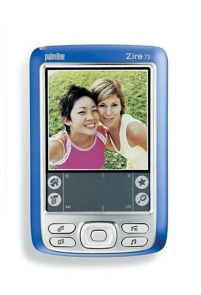Refurbished Palm Zire 72 PDA with New Battery & New LCD - Quality Handheld + USA