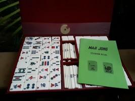 Vintage Maruichi?? Mah Jong Set in Case - $48.99
