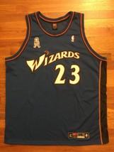 Authentic Nike 2002 Washington Wizards Michael Jordan Away Road Blue Jer... - $309.99