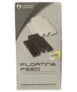 Lithonia Lighting Floating Feed White Track Lighting Kit with Black Cover - $22.95