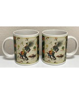 Norman Rockwell Christmas Mug Bringing Home the Tree by Houston Harvest ... - $28.99