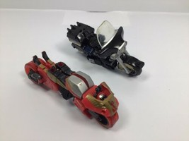 Transformers Cybertron Motorcycle Lot - 2002 AXER & 2005 RANSACK Incomplete - $18.95
