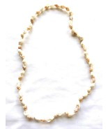 Sea Shell Necklace 22 inches No Clasp - $2.85
