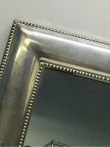 "Framed Silver Wall Mirror 23"" x 30"" Original Price $199 Rectangular Rectangle image 2"