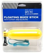 Floating Buoy Stick with Strap and Screws Works with GoPro Hero - $9.89