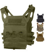 Tactical Plate Carrier Vest - Lightweight Military Army MOLLE Mag Assaul... - $50.99+
