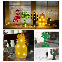 Marquee LED Night Light Bedroom Battery Animal Shape Wall Lamp Home Part... - $6.71+